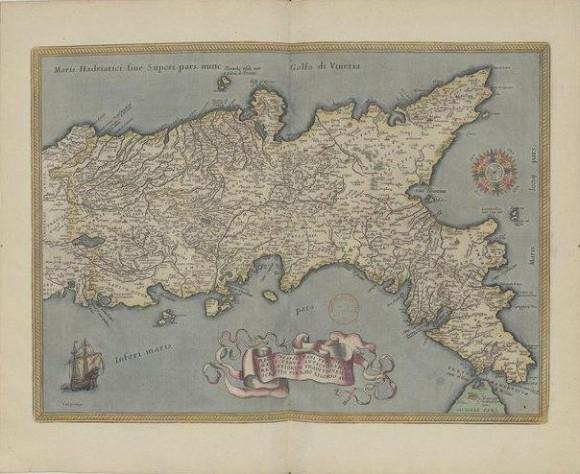 Regno di Napoli Abraham Ortelius, Theatrum orbis terrarum, Antverpiae, apud C. Plantinum, 1579 Fonte: gallica.bnf.fr / Bibliotèque nationale de France