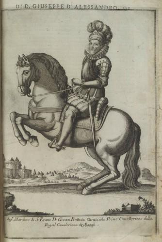 Giovan Battista Caracciolo Opere di Giuseppe d'Alessandro duca di Pescolanciano, Napoli, Antonio Muzio, 1723, p. 295