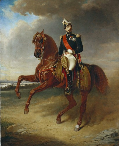 Édouard Boutibonne, Portrait of Napoleon III, 1856,  © The Royal Collection