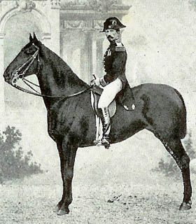 According to General L'Hotte (1825-194), only those with innate qualities can really excel in horseback riding.