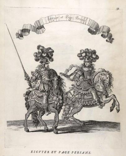 Charles, Perrault, Courses de testes et de bague…1670