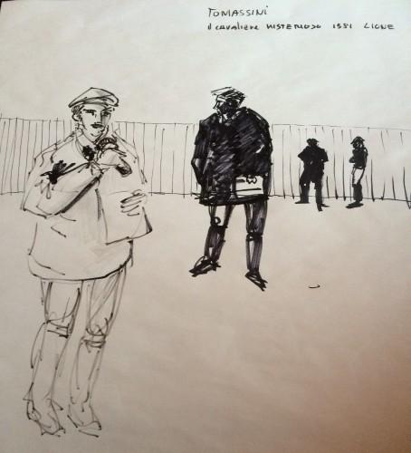Disegno di Stefano Marchi