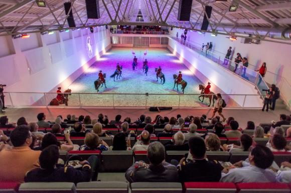 Il carosello finale è un vero e proprio balletto a cavallo Foto © PSML – Bruno Barata