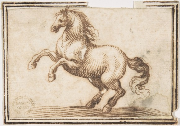 Horse attributed to Francesco Allegrini - 1624-63 © Metropolitan Museum of Art - New York