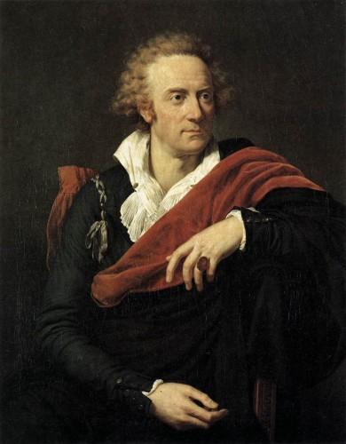 François-Xavier Fabre, Portrait of Vittorio Alfieri, 1793, Museo degli Uffizi - Firenze