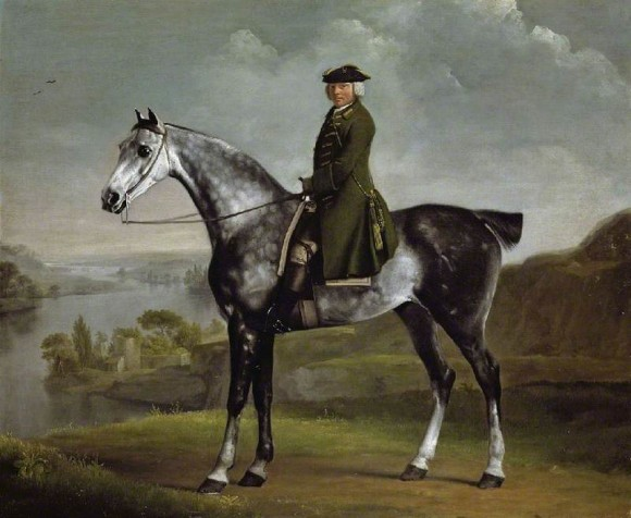 George Stubbs, Joseph Smyth Esquire on a Dapple Grey Horse, 1762-64 Fitzwilliam Museum - Cambridge
