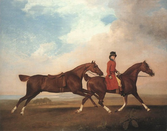 George STUBBS, William Anderson con due cavalli da sella, 1793 Royal Collection - Windsor