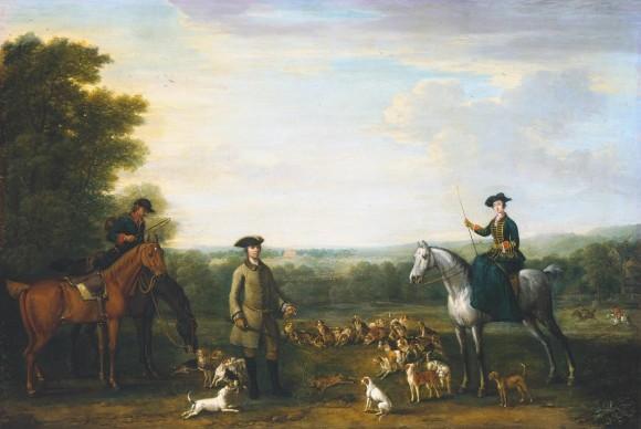 John Wotton, Lady Mary Churchill alla caccia alla lepre, 1748 Tate Modern Gallery - Londra