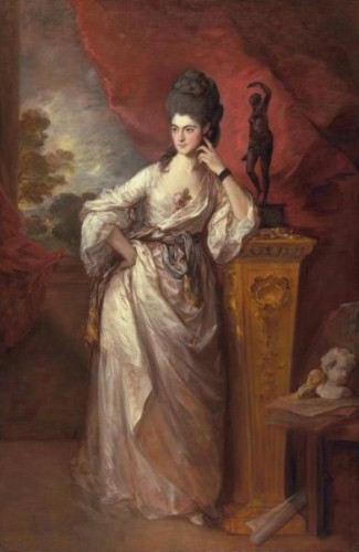 Thomas Gainsborough, Penelope Pitt, Viscontessa Ligonier, 1770 The Huntingto Library, San Marino - California