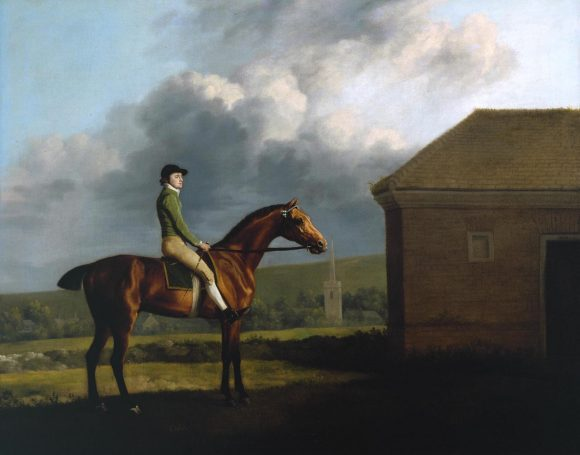 George Stubbs, Otho montato da John Larkin, circa 1768 © Tate Modern Gallery - Londra