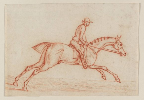 James Seymour, A Horseman Galloping, uncertain date © Tate Modern Gallery - Londra