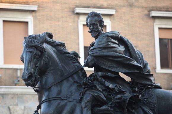 Francesco Mochi, Equestrian Monument to Alessandro Farnese Piazza dei Cavalli, Piacenza (1612)