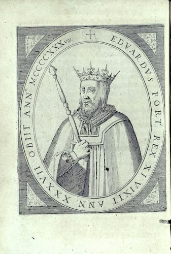 Edward I of Portugal was born in 1391 and he died of plague in 1438 (Bernardo de Brito, Elogios dos Reis de Portugal com os mais verdadeiros retratos que se puderaõ achar, 1603)